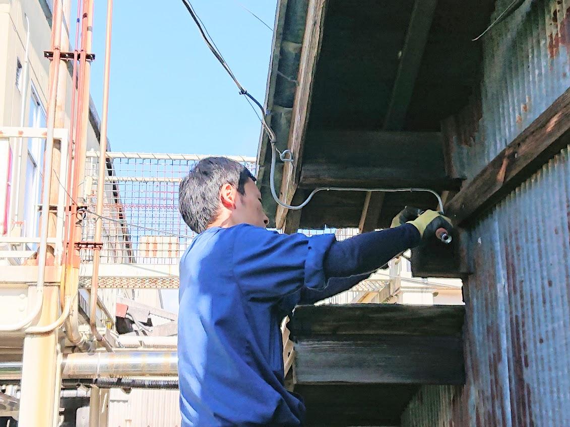 住宅設備の修理
